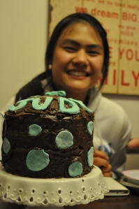 Judy is 16! Cake by Emily.
