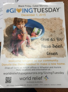 World Relief poster