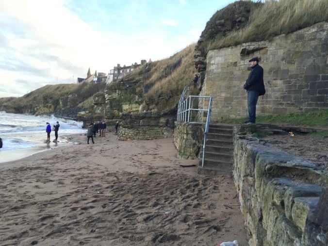 dave on beach